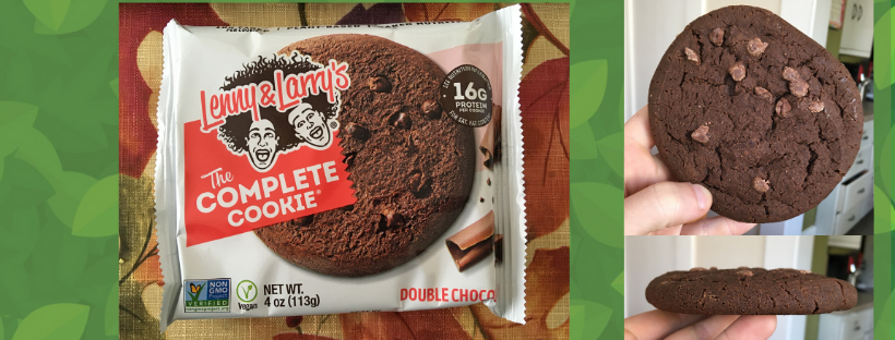 review Lenny and Larry cookie protein energy bar