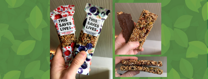 This bar saves lives snaktak energy bar review